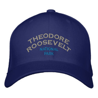 Theodore Roosevelt National Park Embroidered Baseball Hat