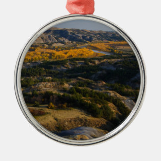 Theodore Roosevelt National Park Metal Ornament