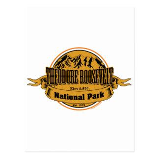 Theodore Roosevelt National Park, North Dakota Postcard