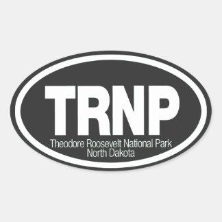 Theodore Roosevelt National Park Oval Sticker