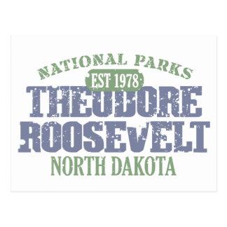 Theodore Roosevelt National Park Postcard