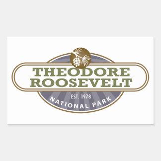 Theodore Roosevelt National Park Rectangular Sticker
