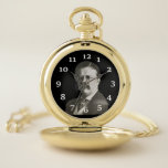 """Theodore Roosevelt Pocket Watch<br><div class=""""desc"""">An image of Theodore Roosevelt  decorates this awesome pocket watch</div>"""