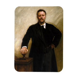 Theodore Roosevelt Rectangular Photo Magnet