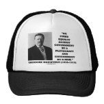 Theodore Roosevelt Stand Government Plutocracy Mob Trucker Hat