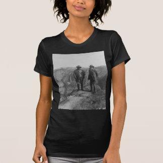 Theodore Roosevelt y John Muir en punto del Camiseta
