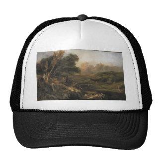 Theodore Rousseau- Mountain Landscape, fisherman Trucker Hats