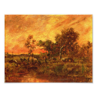 Theodore Rousseau Wooded Landscape Photograph