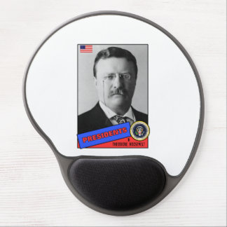 Theodore Teddy Roosevelt Baseball Card Gel Mouse Pad