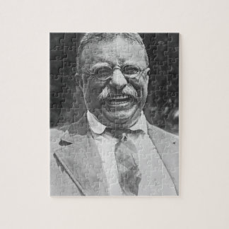 """Theodore """" Teddy """" Roosevelt Laughing Puzzle"""