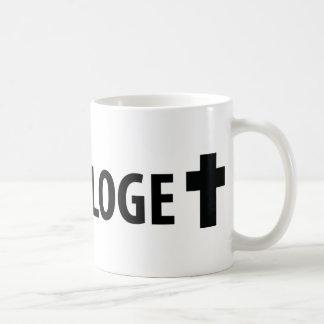 Theologe Kreuz icon Coffee Mug