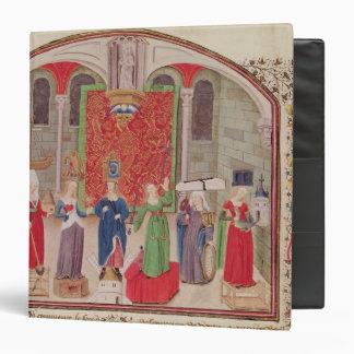 Theological and Cardinal Virtues 3 Ring Binder