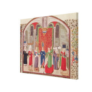 Theological and Cardinal Virtues Stretched Canvas Prints