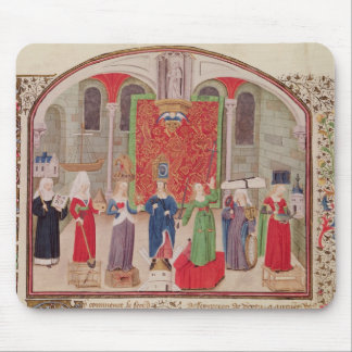Theological and Cardinal Virtues Mouse Pad