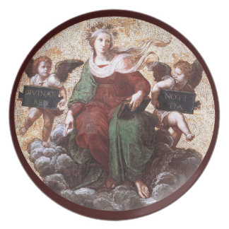 THEOLOGY PARTY PLATE