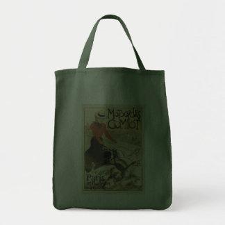 Theophile-Alexandre Steinlen ~ Motocycles Comiot Canvas Bag
