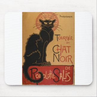 Théophile-Alexandre Steinlen - Tournée du Chat Noi Mouse Pad