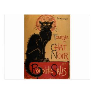 Théophile-Alexandre Steinlen - Tournée du Chat Noi Postcard