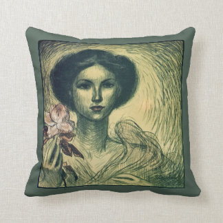 Theophile Steinlen~ French Art Exhibition ~Krefeld Throw Pillow