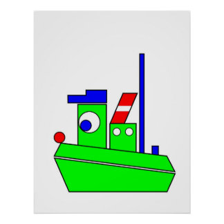 Theophile the Tug Poster