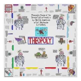 Theopoly: Game of the Divine! Poster