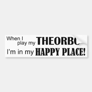 Theorbo Happy Place Bumper Sticker