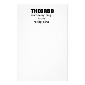 Theorbo Isn't Everything Personalized Stationery