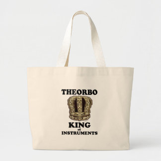 Theorbo King of Instruments Tote Bags