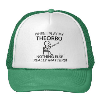 Theorbo Nothing Else Matters Mesh Hats