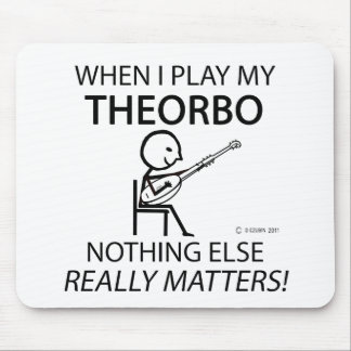 Theorbo Nothing Else Matters Mouse Pad