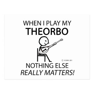 Theorbo Nothing Else Matters Postcard