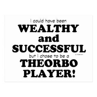 Theorbo Wealthy & Successful Postcard