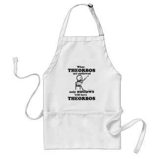 Theorbos Outlawed Adult Apron