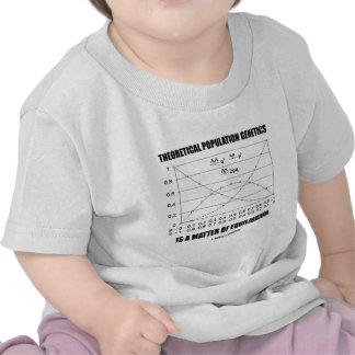Theoretical Population Genetics Matter Equilibrium T-shirts