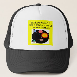 theoretical quantum physics trucker hat