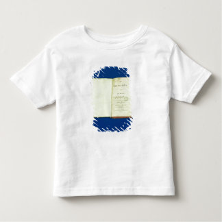 Theory of Colours, 1810 Toddler T-shirt