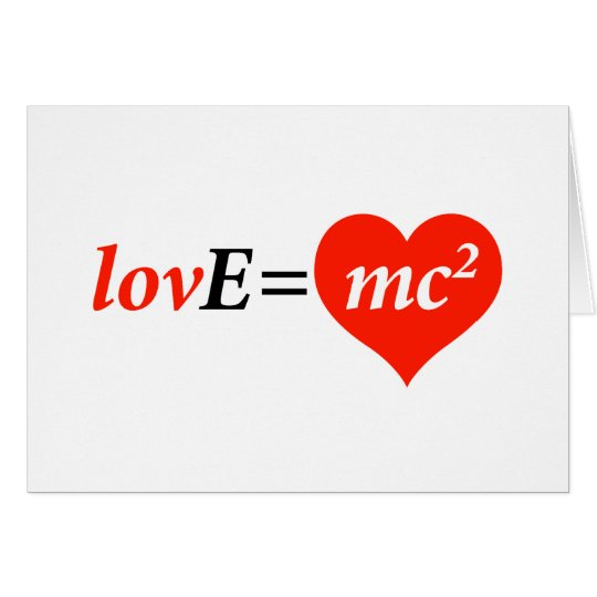 Theory of Love Equation Card