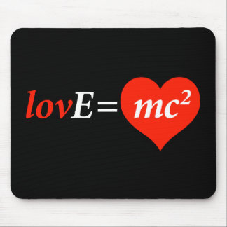 Theory of Love Equation Mouse Pad