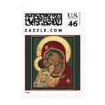 theotokos Christmas stamp