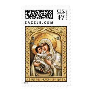 Theotokos of Tenderness - Postage