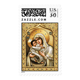Theotokos of Tenderness - Postage