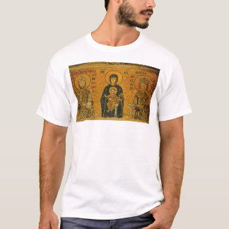 Theotokos with Ss. Constatine and ... - Customized T-Shirt