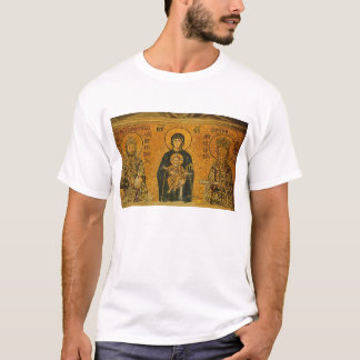 Theotokos with Ss. Constatine and Helen T-Shirt