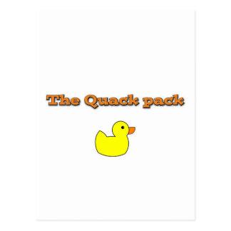 thequackpack.png tarjetas postales