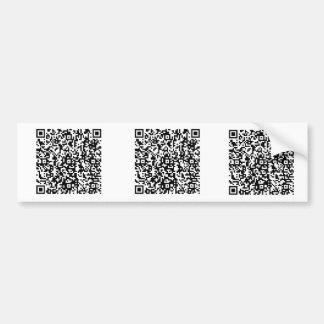 TheQuest_QR Bumper Stickers