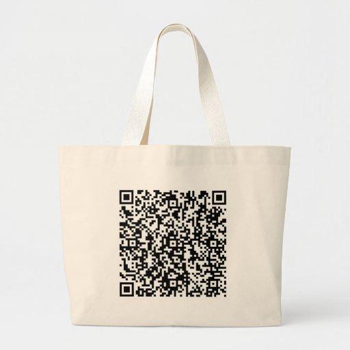 TheQuest_QR Canvas Bag
