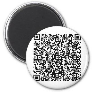 TheQuest_QR 2 Inch Round Magnet