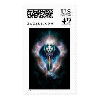 Thera The Ethereal Queen Postage Stamp