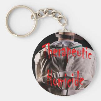 Therapeutic Homicide logo Key Chain
