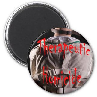 Therapeutic Homicide Logo Magnet